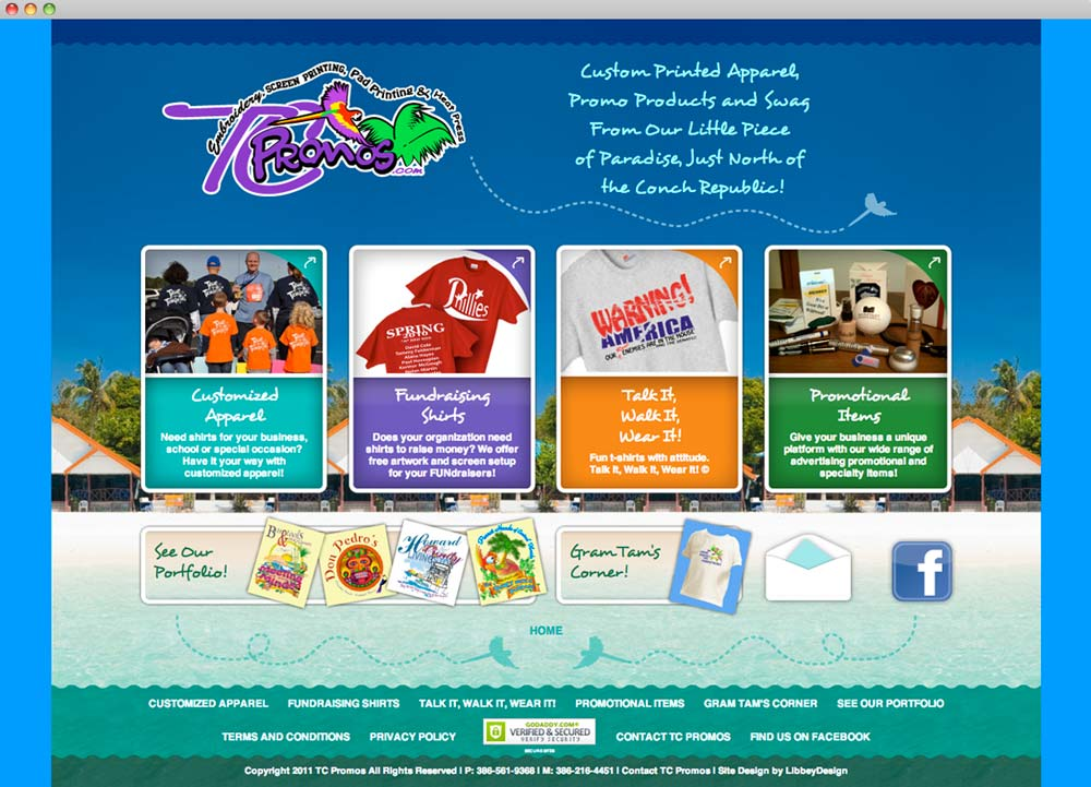 TC Promos Website